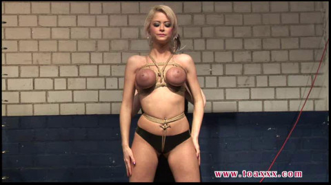 The almost any hot Tits on earth in constricted Bondage by Claire Adams