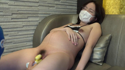 Brunette Japan Pregnant Blowjob