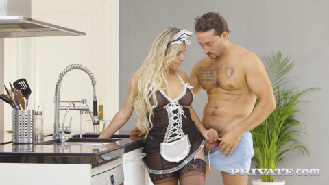 Mia Linz  Sexy Maid Debuts With DP Threesome HD 720p