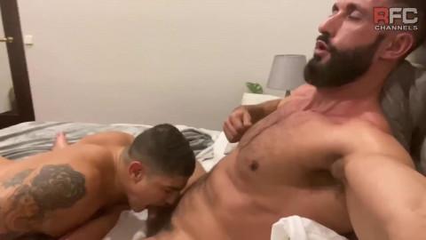 RFC - Arab Daddy: Bastian Karim, Halif Faruk Bareback