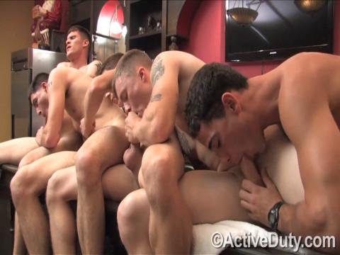 Bric, Dustin, Nick, Rusty and Zander