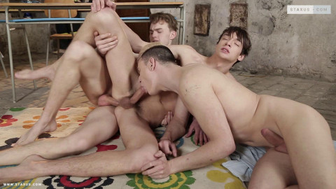 Broken holes threesome