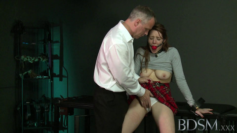 Master White on sub Samantha Bentley (2014)