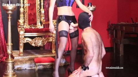 Mistress Iside Extreme Deepthroat and Tabasco Assfuck - Full HD 1080p