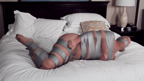 CinchedandSecured - Tape Fastened, Hose Encased and Mummified