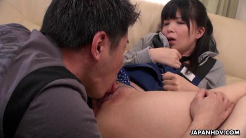 Sena sakura is screwed like in the porn videos