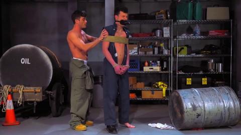 Bondage Garage, Scene 04 Lance Hart, Micky Mackenzie