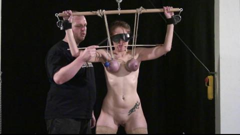 Hard Breast Punishment Lesson