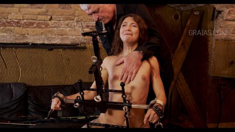 Enslaved Chick Jasmine Waterfalls Debut Part 04