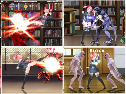 Umai Neko Fighting Girl Sakura