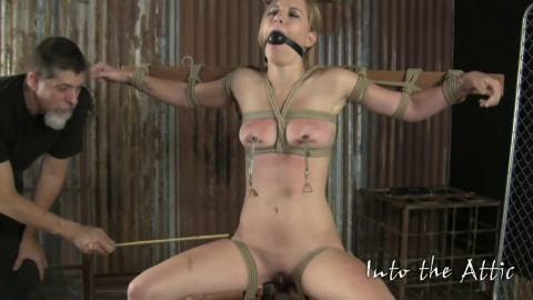 Super tying, spanking and soreness for hot undressed golden-haired part2 HD 1080p