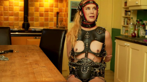Bondage, spanking and domination for golden-haired sub part 3 HD 1080p