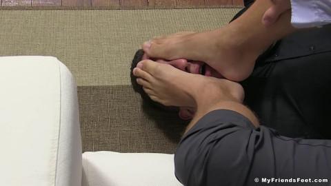 Kennys Slave Serves His Socks & Feet