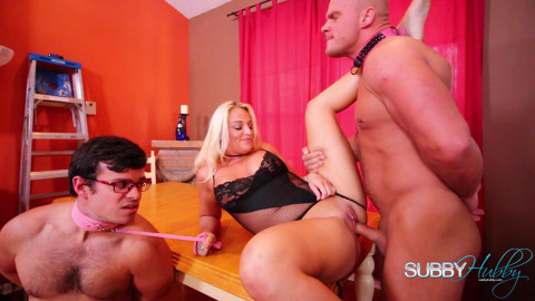 Blonde likes to dominate - Hd 1080p