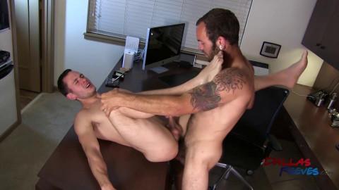 Dallas Reeves - Bareback office fuck - Maxx Fitch and Dalton Pierce