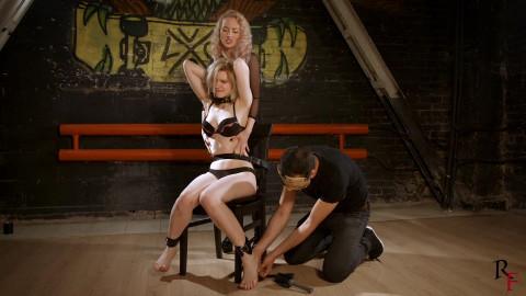 HD Pain play Sex Vids Bitch goddess Polina vs Astrid the thief part FIRST
