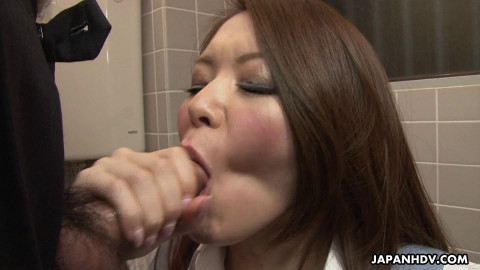 China mimura sucks a cock with fun