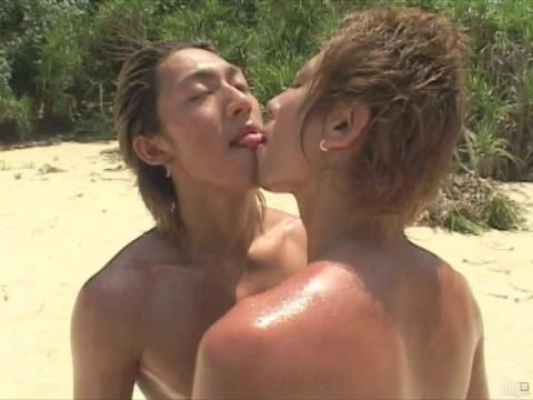 Erotic Ninja scene 4, Twink Beach