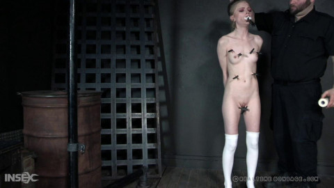 Petite Alice is punished & suspended