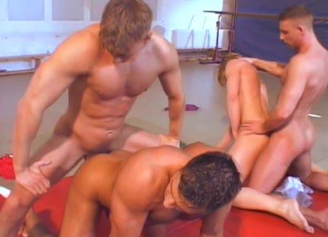 Big Boy In Fuck Down Orgy