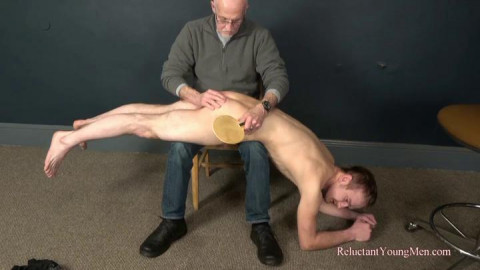 Justin Spanked by Gary