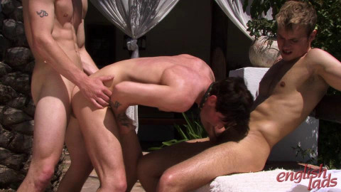 Str8  Hunk   Fest Hayden  And  Liam  Slam  Into  Anthony