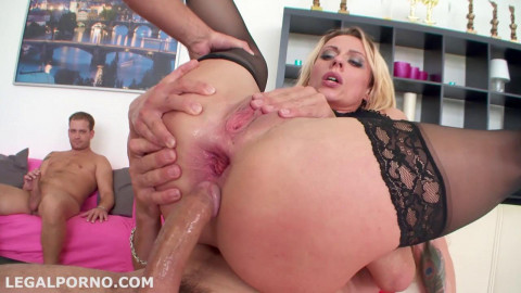 Monsters of Dap 1 Brittany Love ball deep gapes, prolapse, anal fisting (2015)