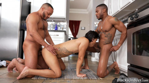 Hot 3some Andre Monsoon, Dillon Diaz & Jake Waters 720p