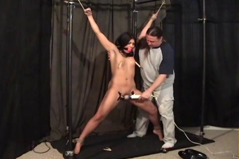 BadManVideos - Home of brutally fastened cuties, gagged - Part 7