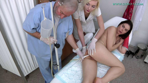 Jessica Bell 30 years Medical Fetish Gyno Exam (2018)