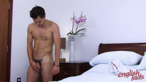 Hairy  Muscular  Straight  Hunk  Phil Proud  Owner  Of  A  Mive  Uncut