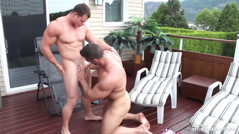 Christian Power and Ivan Lenko (Muscle To Muscle)