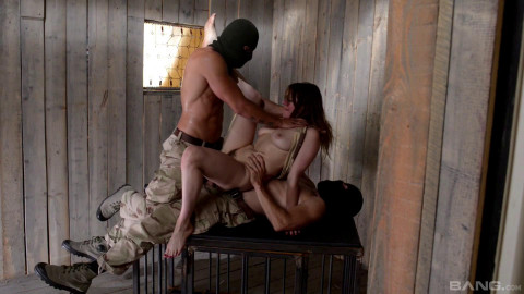 Slim Samantha Bentley Gets Submission & DOUBLE PENETRATION