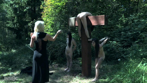 Humiliation party for dirty witches