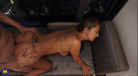 Hot Business MOTHER ID LIKE TO FUCK Rena Fukiishi is doing a toyboy in Tokyo
