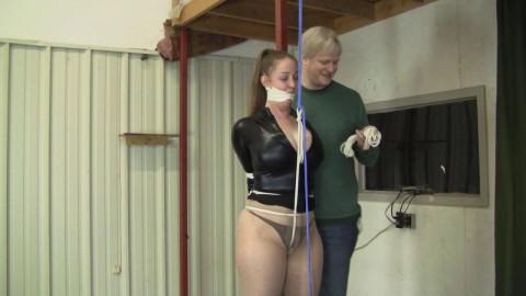 HD Bdsm Sex Videos Crotch Rope Column Tie