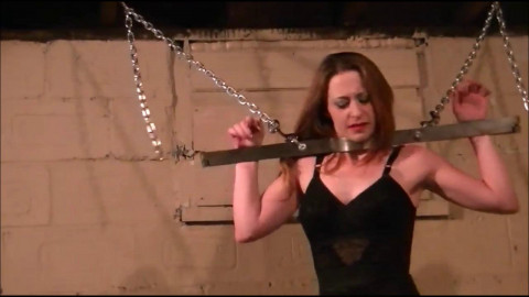 Chains fastened