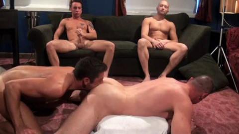 Taking Loads Vol. 3 (Bareback Tag Team) - Igor Lucas, Chris Kohl, Buster Sly