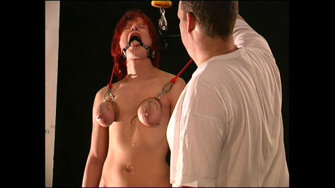 Hot Wax on her Tits for Melanie