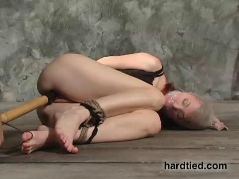 Drop  gorgeous, Kendra James has worked as a bondage bottom