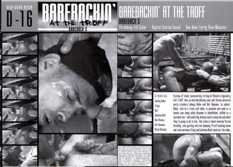 Dick Wadd - Bareback Vol 5 - Barebackin at the Troff