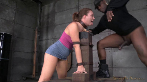 Maddy O'Reilly tagteamed by two dicks