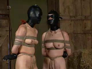 Masked twin slaves