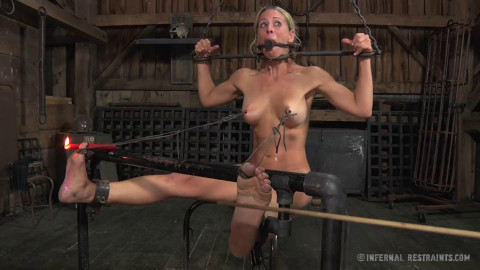 Bondage, strappado, spanking and punishment for wench part 2 HD 1080p