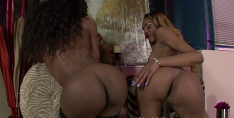 Two Hot Ebony Trans Girls