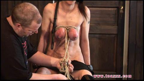Toaxxx - (tx215) Tit Slave Eva Breast Torture - March 19, 2016