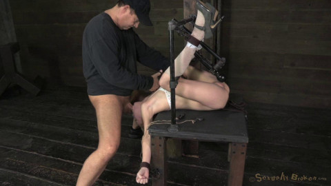 Odette Delacroix Bound, vibrated and throat blasted