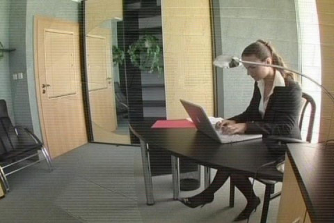 Sexy Secretarys Cunt Licked Under Desk