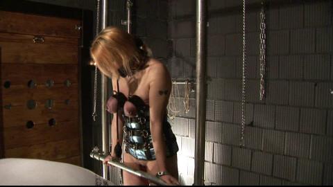 Ultra Breaststorture - Slave Eva - Tits in Steel