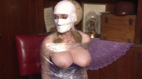 Mummification in Packing Tape - Version 2 - Lorelei